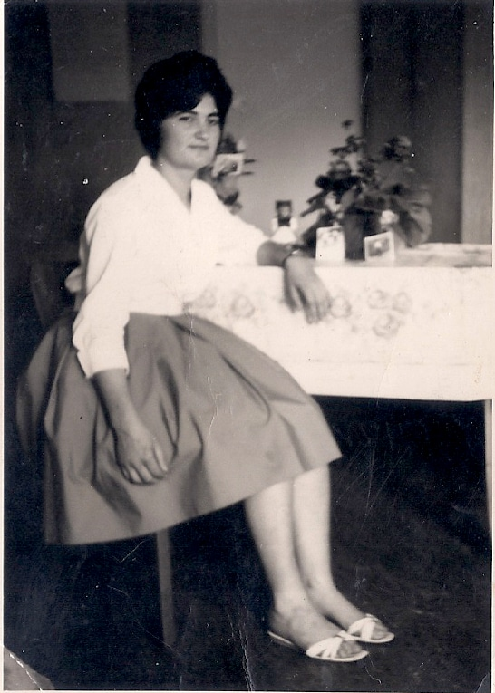 Πλούμενταλ Γερμανίας 26-6-1962 Τασούλα(Γιαμουρίδου) Καλλία