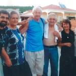 Από αριστερά: Ασλανίδης Ανδρέας, Ασλανίδου Μαρία, Κάρολος, Ασλανίδης Αθανάσιος, Ασλανίδου Ευστρατία, Ασλανίδης Νικόλαος