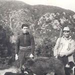 Από αριστερά: Καραβασίλης Χρήστος, Καραβασίλης Γεώργιος