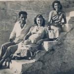 Από αριστερά: Ασλανίδης Αθανάσιος, Ασλανίδου Γεωργία, Παπαδοπούλου Μάρω