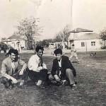 Από αριστερά: Κοτζαμανίδης Ζαχαρίας, Ασλανίδης Αθανάσιος, Καραβασίλης Ματθαίος