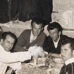Από αριστερά: Σεμερτζίδης Κωνσταντίνος, Κοτζαμανίδης Ζαχαρίας, Δρακούλης Πέτρος, Ιωαννίδης Γεώργιος