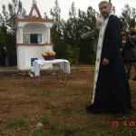 Αγιασμός στο Εκκλησάκι του Αγ. Γεωργίου