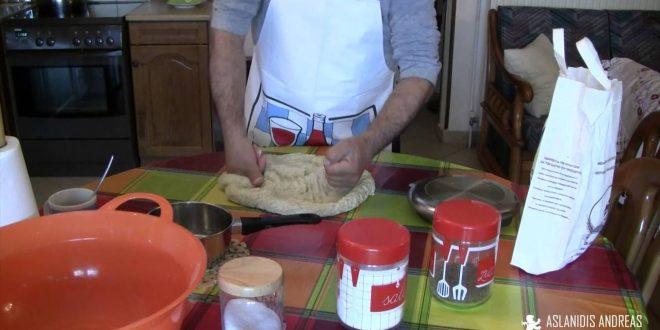 Ζύμη Πίτσας (Pizza) με Φυσικό Προζυμι